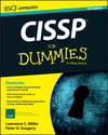 CISSP For Dummies, 5th Edition (1119210259) cover image