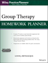 Group Therapy Homework Planner, with Download eBook (1119230659) cover image