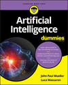 Artificial Intelligence For Dummies (1119467659) cover image