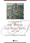 A Companion to the British and Irish Novel 1945 - 2000 (1405167459) cover image