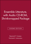Ensemble Litterature, Sixieme Edition, with Audio CD-ROM, Shrinkwrapped Package (047000455X) cover image