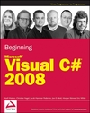 Beginning Microsoft Visual C# 2008 (047019135X) cover image