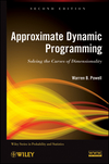 thumbnail image: Approximate Dynamic Programming: Solving the Curses of Dimensionality, 2nd Edition