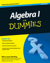 Algebra I For Dummies, 2nd Edition (047063605X) cover image
