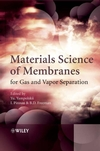 thumbnail image: Materials Science of Membranes for Gas and Vapor Separation