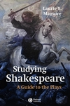 Studying Shakespeare: A Guide to the Plays (063122985X) cover image