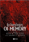 Archaeologies of Memory (063123585X) cover image