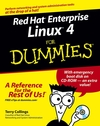 Red Hat Enterprise Linux 4 For Dummies (076459625X) cover image