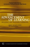 The Advancement of Learning: Building the Teaching Commons  (078798115X) cover image