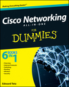 Cisco Networking All-in-One For Dummies (111813785X) cover image