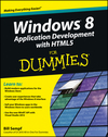 Windows 8 Application Development with HTML5 For Dummies (111817335X) cover image