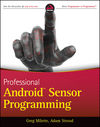 Professional Android Sensor Programming (111822745X) cover image