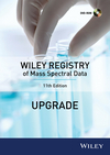 Wiley Registry of Mass Spectral Data, 11th Edition (Upgrade) (111862775X) cover image