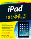 iPad For Dummies, 6th Edition (111872755X) cover image