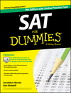 SAT For Dummies, with Online Practice, 9th Edition (111891175X) cover image