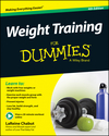 Weight Training For Dummies, 4th Edition (111894075X) cover image