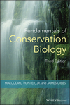 Fundamentals of Conservation Biology, 3rd Edition (140513545X) cover image