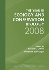 Year in Ecology and Conservation Biology 2008, Volume 1133 (157331725X) cover image