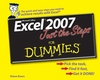 Excel 2007 Just the Steps For Dummies (0470135360) cover image