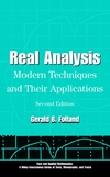 thumbnail image: Real Analysis: Modern Techniques and Their Applications, 2nd...