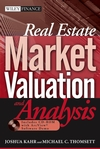 Real Estate Market Valuation and Analysis (0471655260) cover image