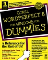 Corel WordPerfect 8 For Windows For Dummies  (0764501860) cover image