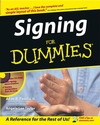 Signing For Dummies® (0764554360) cover image
