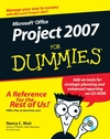 Microsoft Office Project 2007 For Dummies (1118043960) cover image
