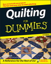 Quilting For Dummies, 2nd Edition (1118054660) cover image