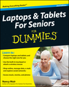 Laptops and Tablets For Seniors For Dummies, 2nd Edition (1118095960) cover image