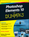 Photoshop Elements 10 For Dummies (1118167260) cover image