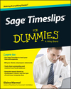 Sage Timeslips For Dummies (1118832760) cover image