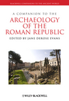 A Companion to the Archaeology of the Roman Republic (1405199660) cover image