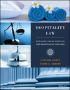 Hospitality Law: Managing Legal Issues in the Hospitality Industry, 5th Edition (EHEP003660) cover image