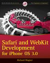Safari and WebKit Development for iPhone OS 3.0 (0470549661) cover image