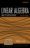 Linear Algebra and Its Applications, 2nd Edition (0471751561) cover image