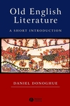 Old English Literature: A Short Introduction (0631234861) cover image