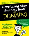 Developing eBay Business Tools For Dummies (0764579061) cover image