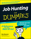 Job Hunting For Dummies, 2nd Edition (1118069161) cover image