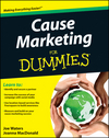 Cause Marketing For Dummies (1118119061) cover image