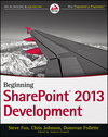 Beginning SharePoint 2013 Development (1118495861) cover image