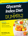 Glycemic Index Diet For Dummies, 2nd Edition (1118790561) cover image