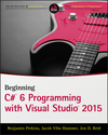 Beginning C# 6 Programming with Visual Studio 2015 (1119096561) cover image