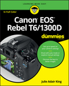 Canon EOS Rebel T6/1300D For Dummies (1119295661) cover image