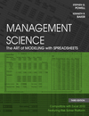 Management Science: The Art of Modeling with Spreadsheets, 3rd Edition (EHEP001761) cover image