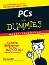 PCs For Dummies Quick Reference, 4th Edition