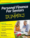 Personal Finance For Seniors For Dummies (0470548762) cover image
