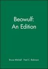 Beowulf: An Edition (0631172262) cover image