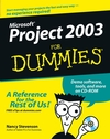 Microsoft Project 2003 For Dummies (1118053362) cover image