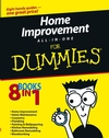 Home Improvement All-in-One For Dummies (1118069862) cover image